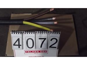 Kábel, NYY-J 4x150 mm2 PVC szigetelésű erőátviteli kábel durván sodrott rézvezetővel