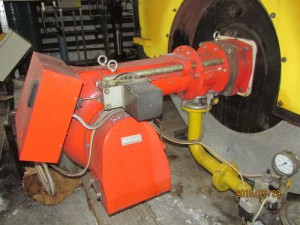 Monoblokk gázégő Ipari gázégő RIELLO 870-3480 kW gázégőfej