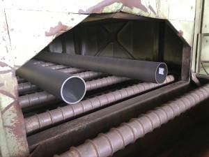 AGJ LRFB-2600-850 Szemcseszóró, festő berendezés