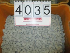 Koptató kő, sorjázó kő, korund, porcelángolyó, cirkónium örlőtest